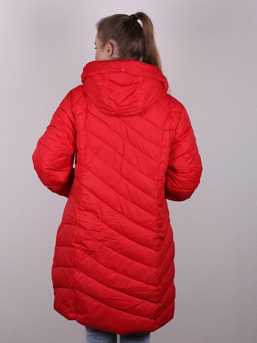 Пальто красное   4977699   фото 4