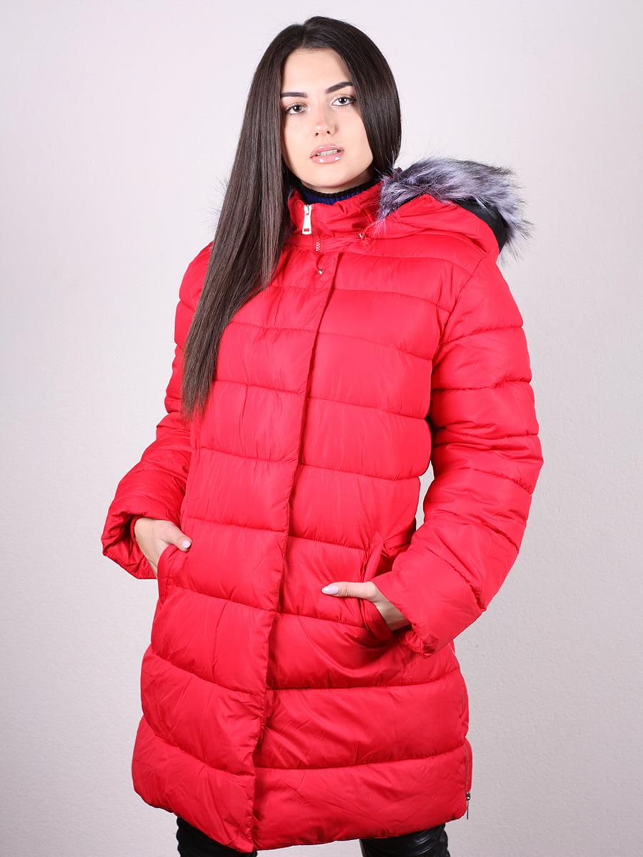 Пальто красное | 4977706