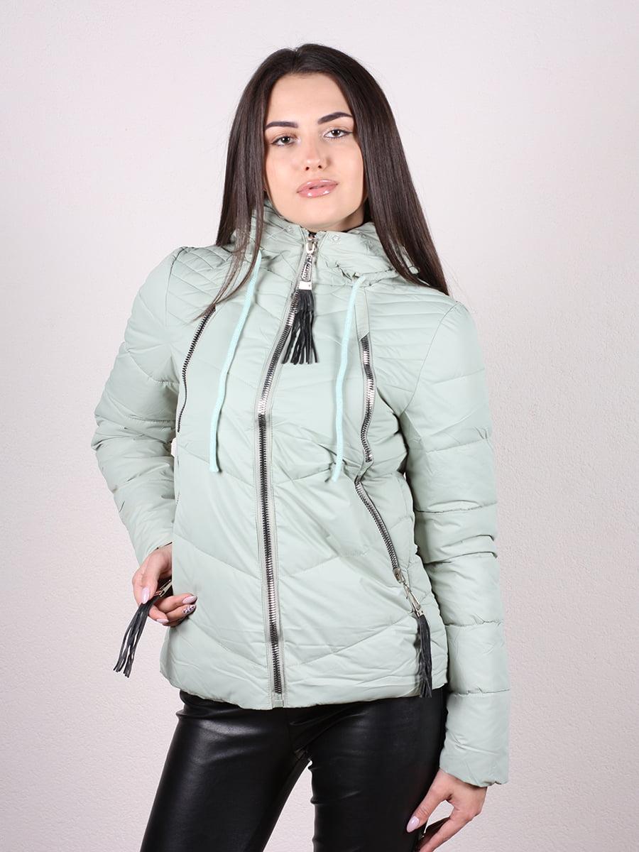 Куртка мятного цвета | 4977707