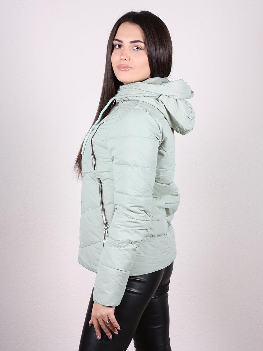 Куртка мятного цвета | 4977707 | фото 2
