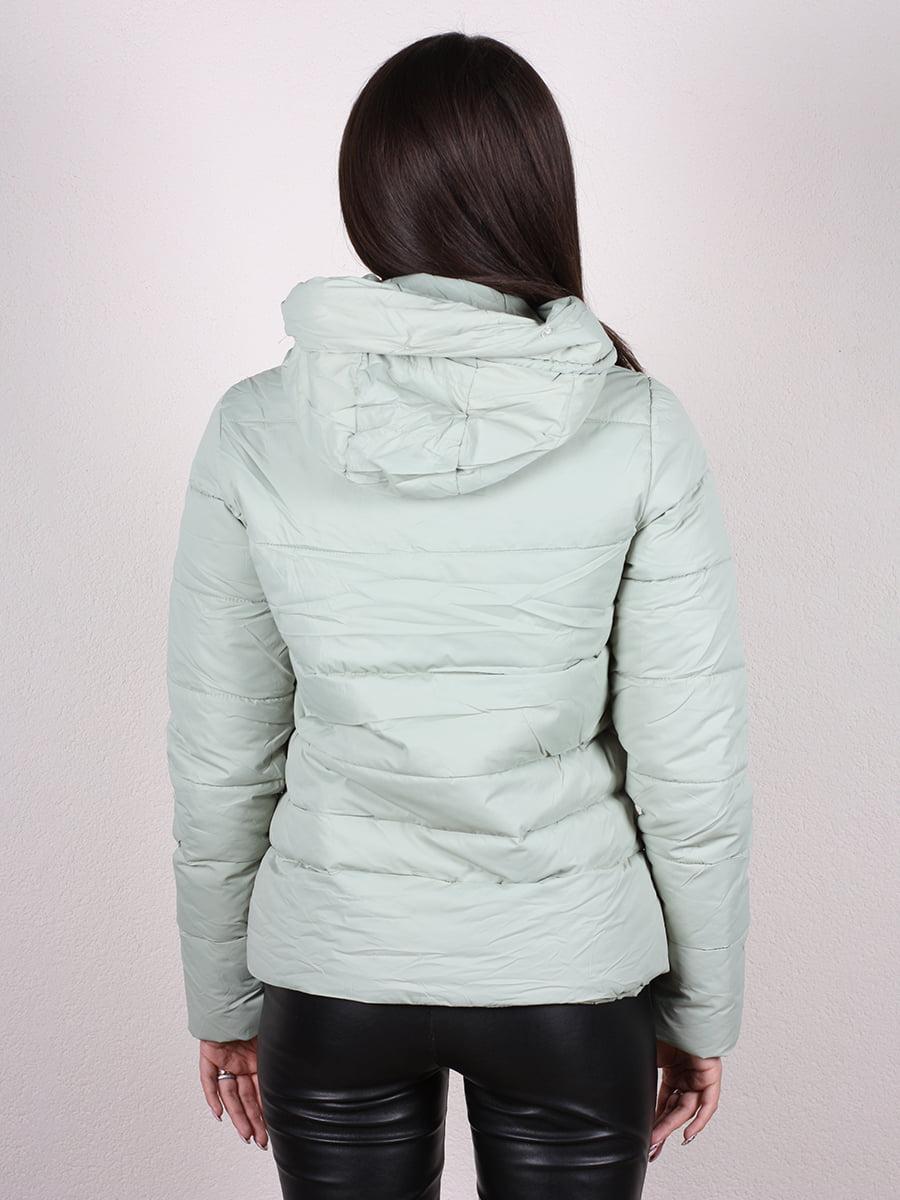 Куртка мятного цвета | 4977707 | фото 3