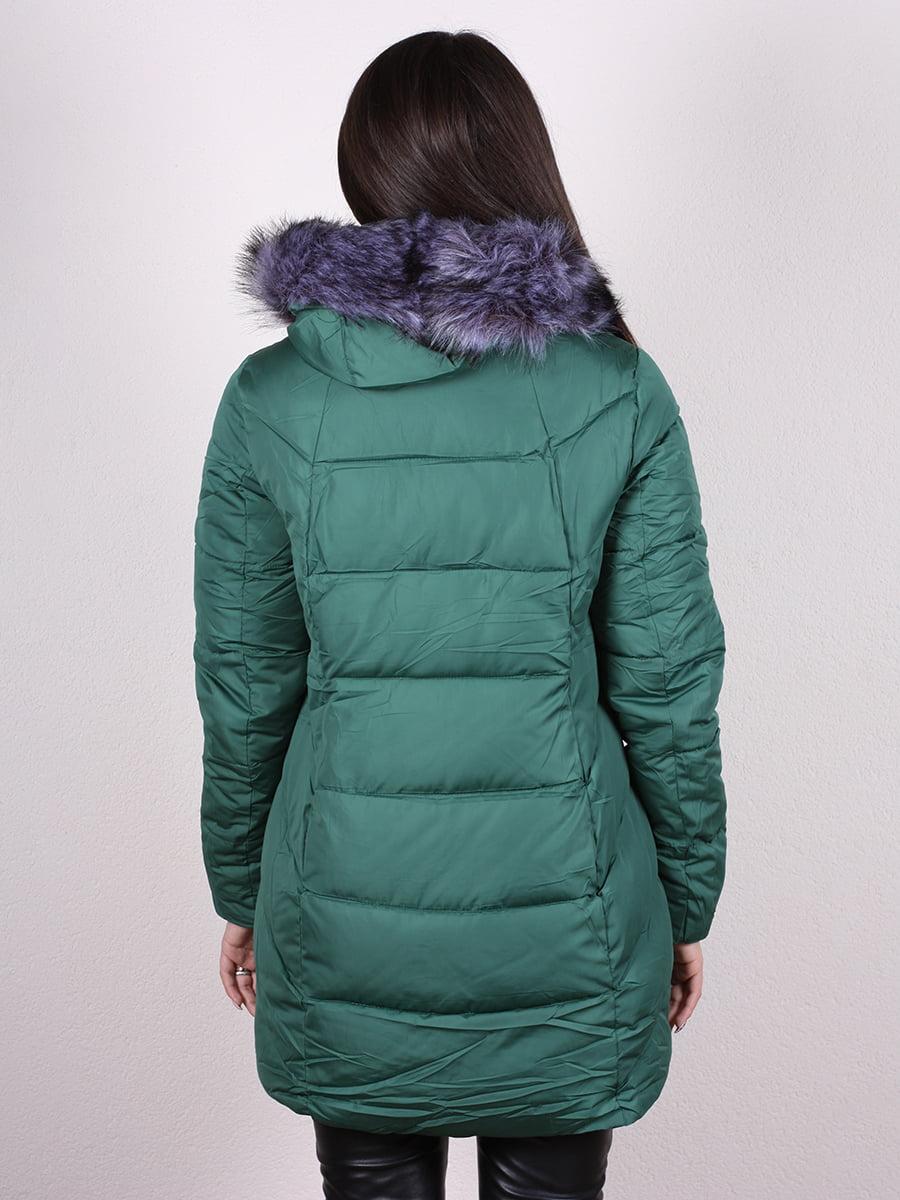 Пальто зеленое | 4977708 | фото 2