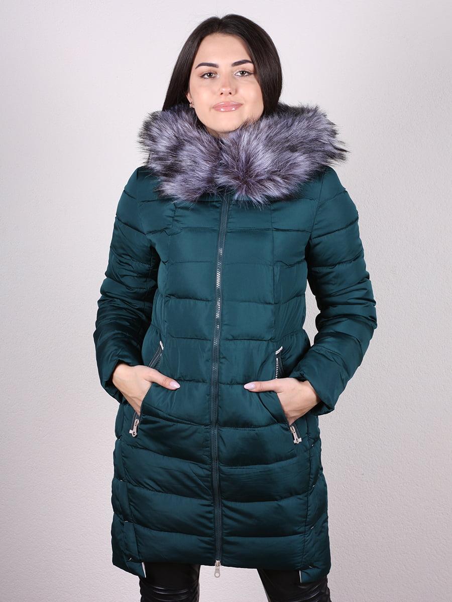 Пальто зеленое   4977712