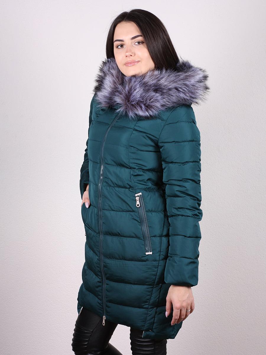 Пальто зеленое   4977712   фото 2