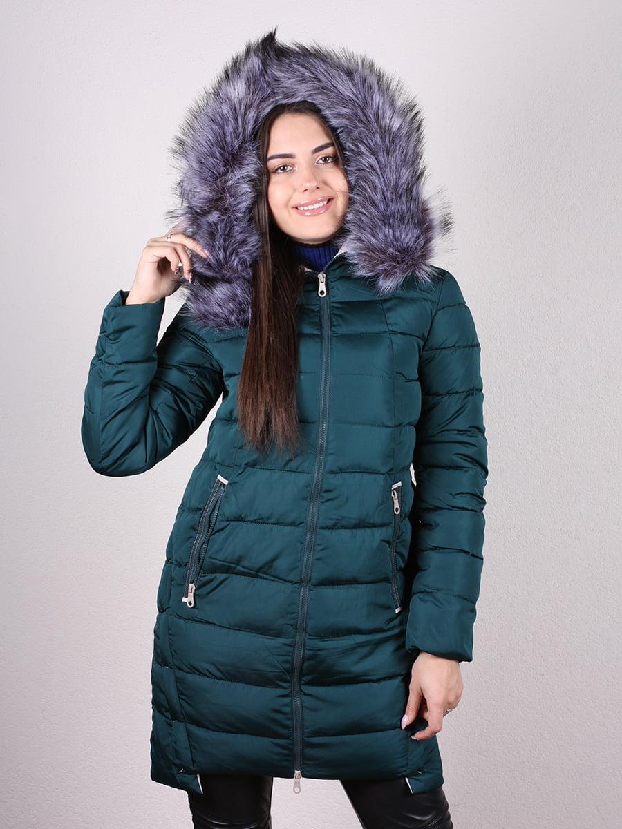 Пальто зеленое   4977712   фото 4
