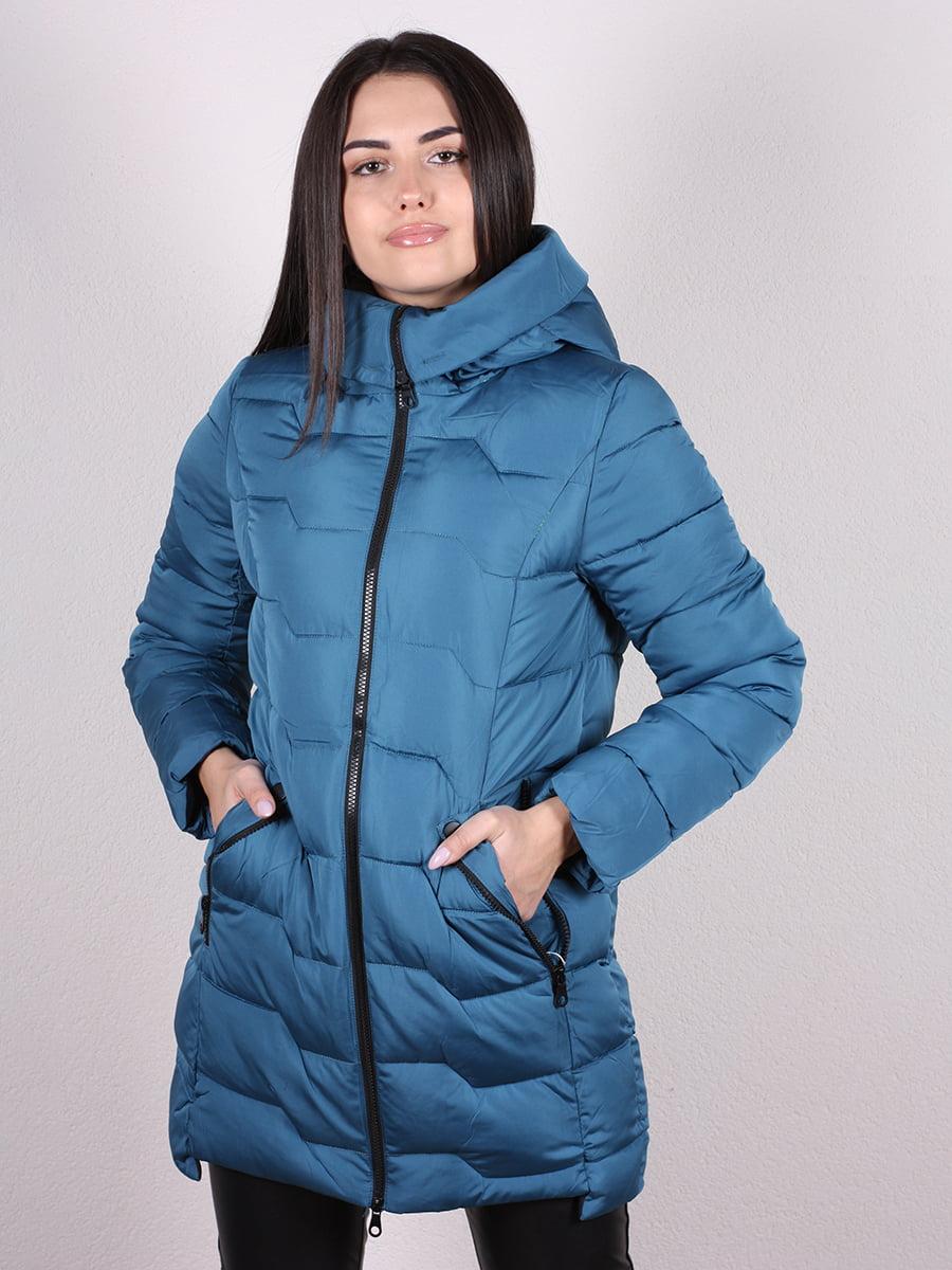 Пальто синее | 4977721