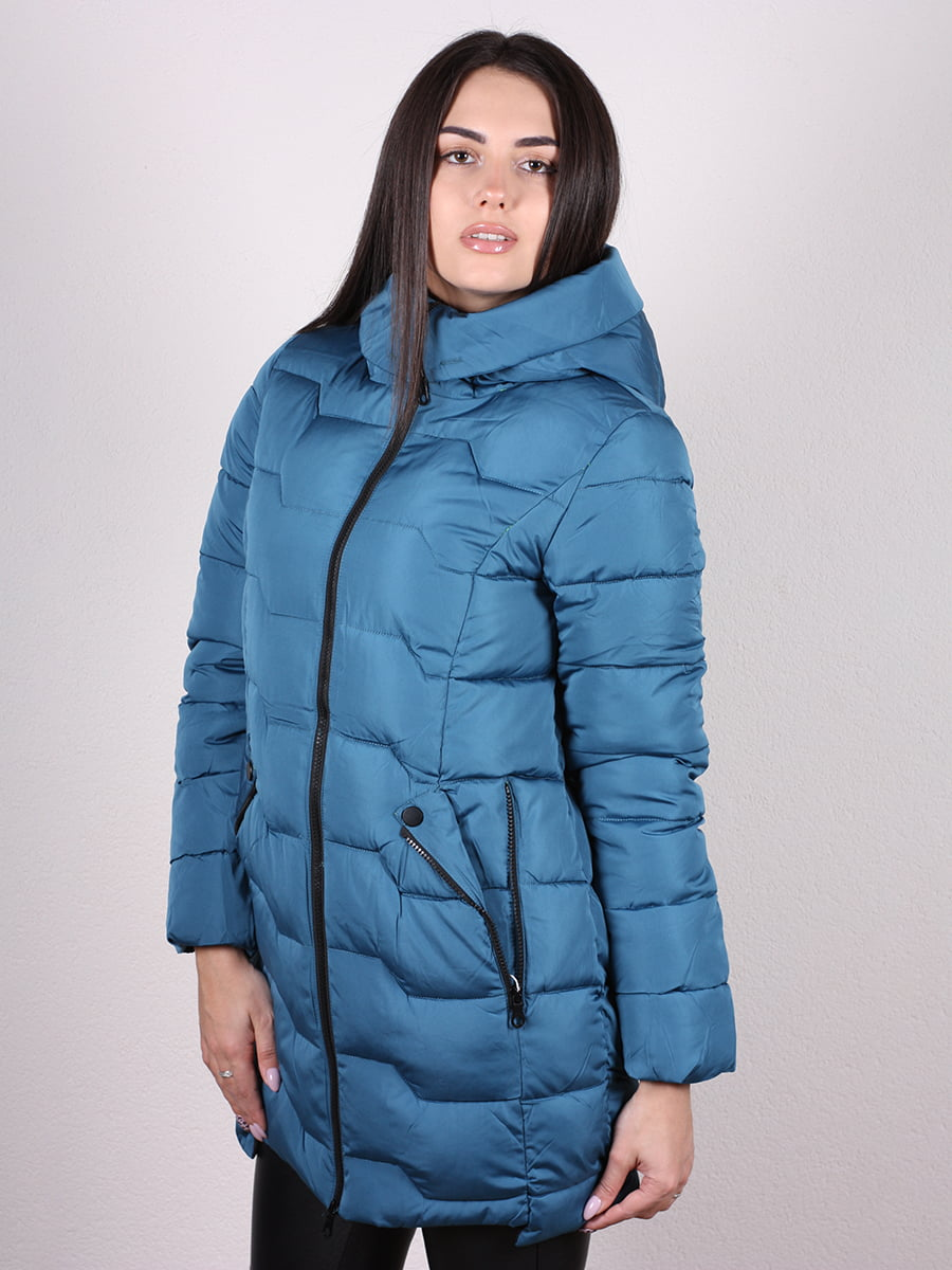 Пальто синее | 4977721 | фото 2
