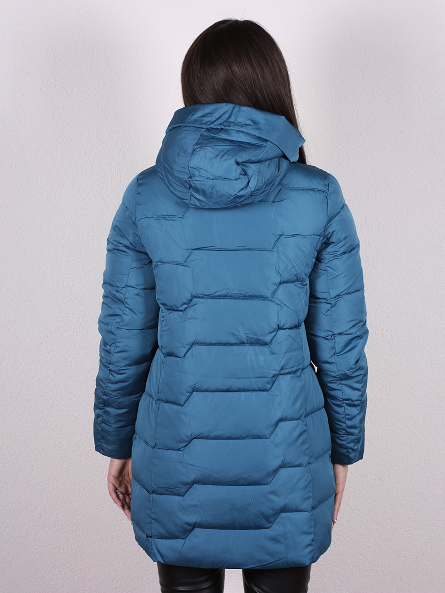 Пальто синее | 4977721 | фото 3