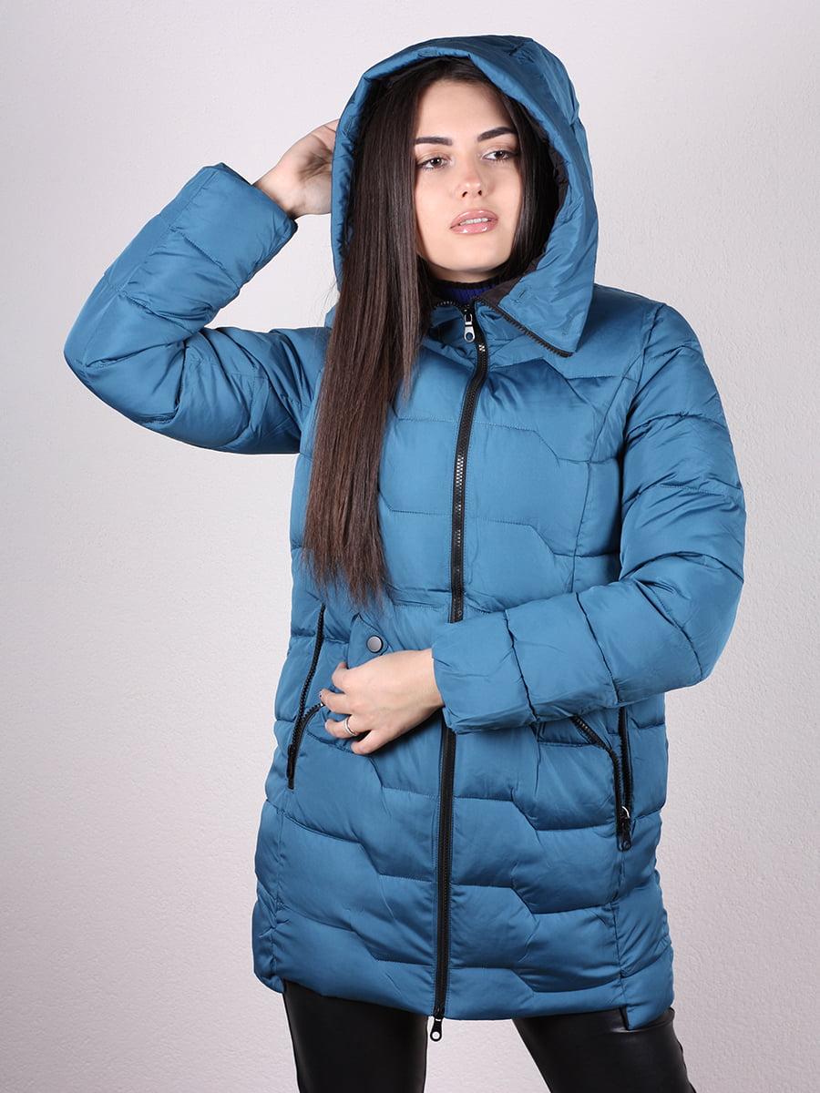Пальто синее | 4977721 | фото 4