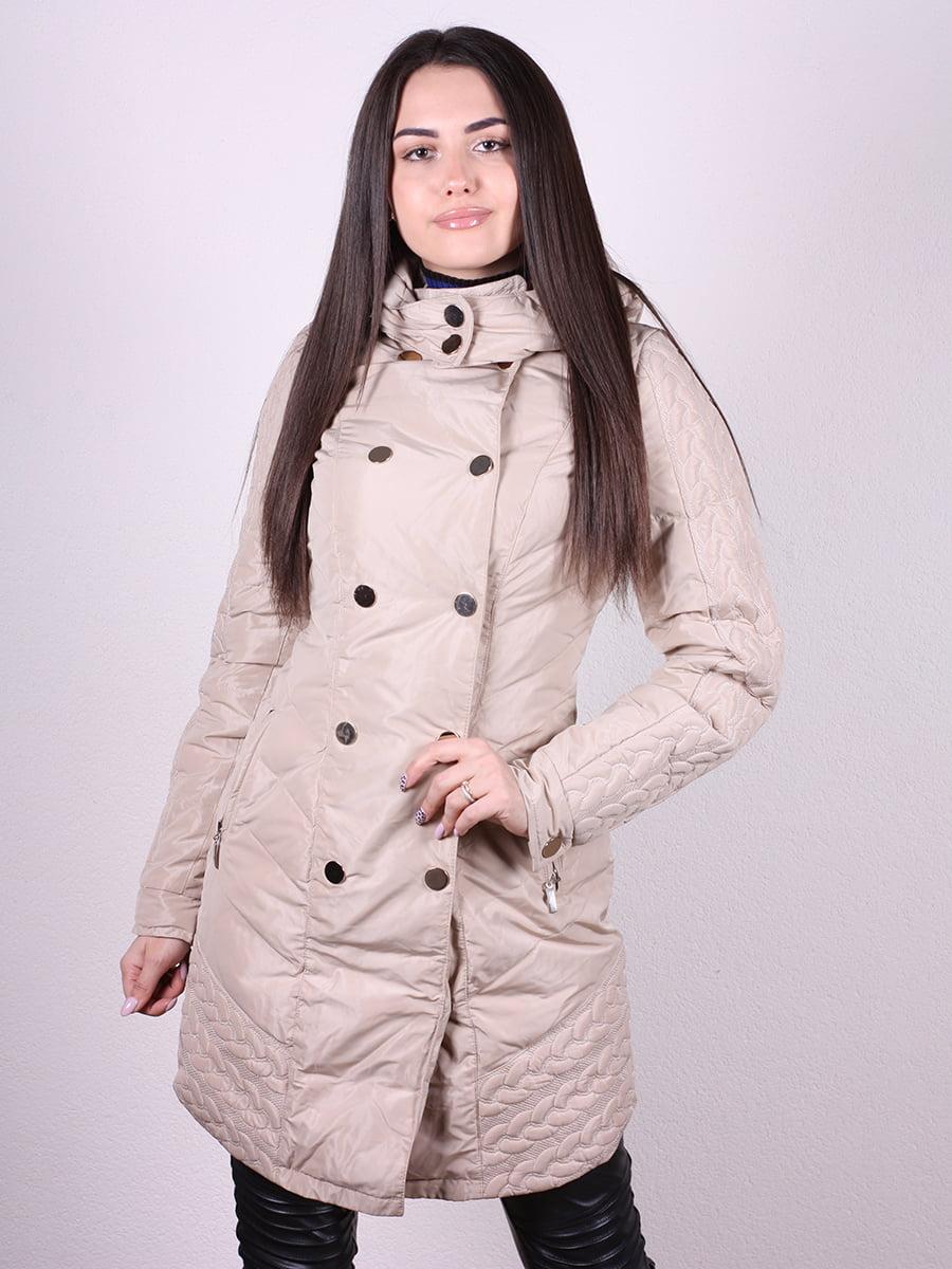 Пальто бежевое | 4977728