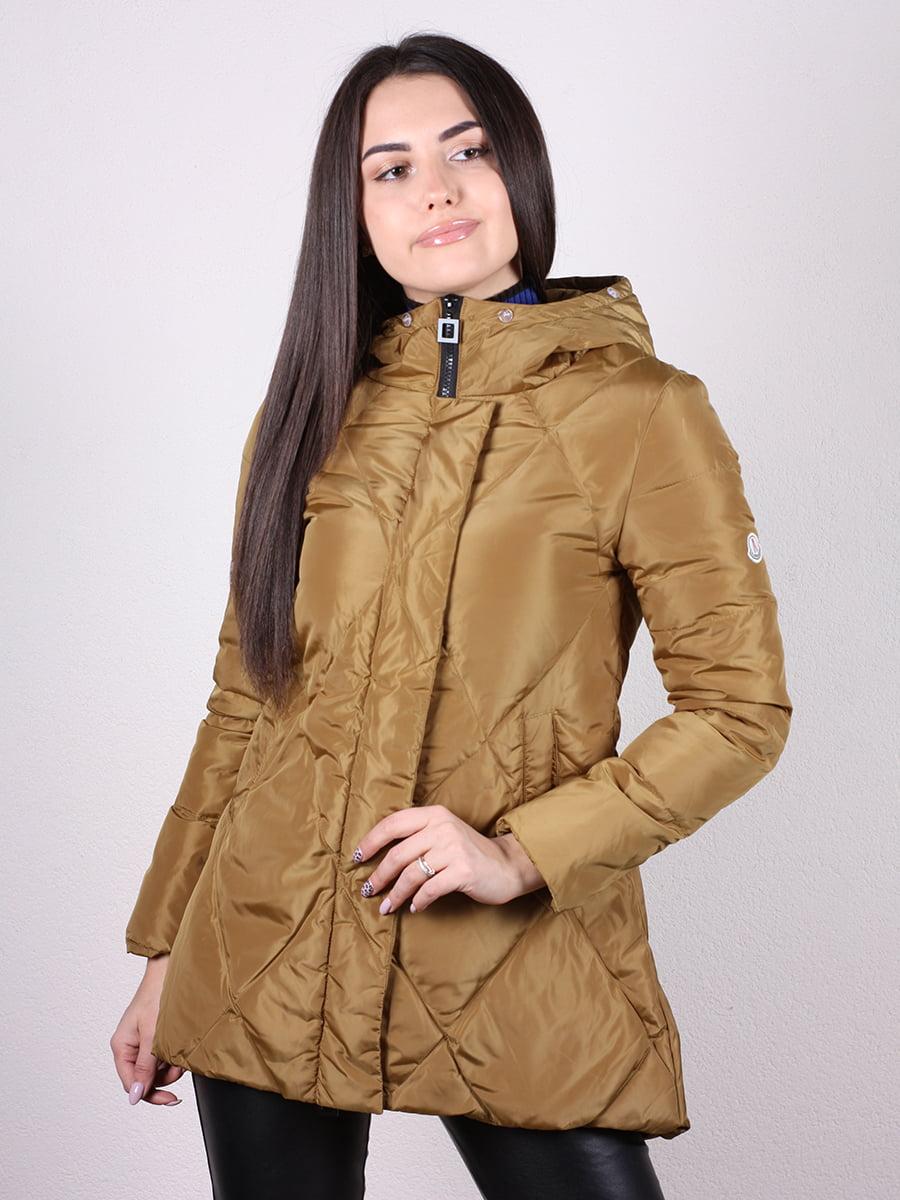 Куртка оливкового цвета | 4977733