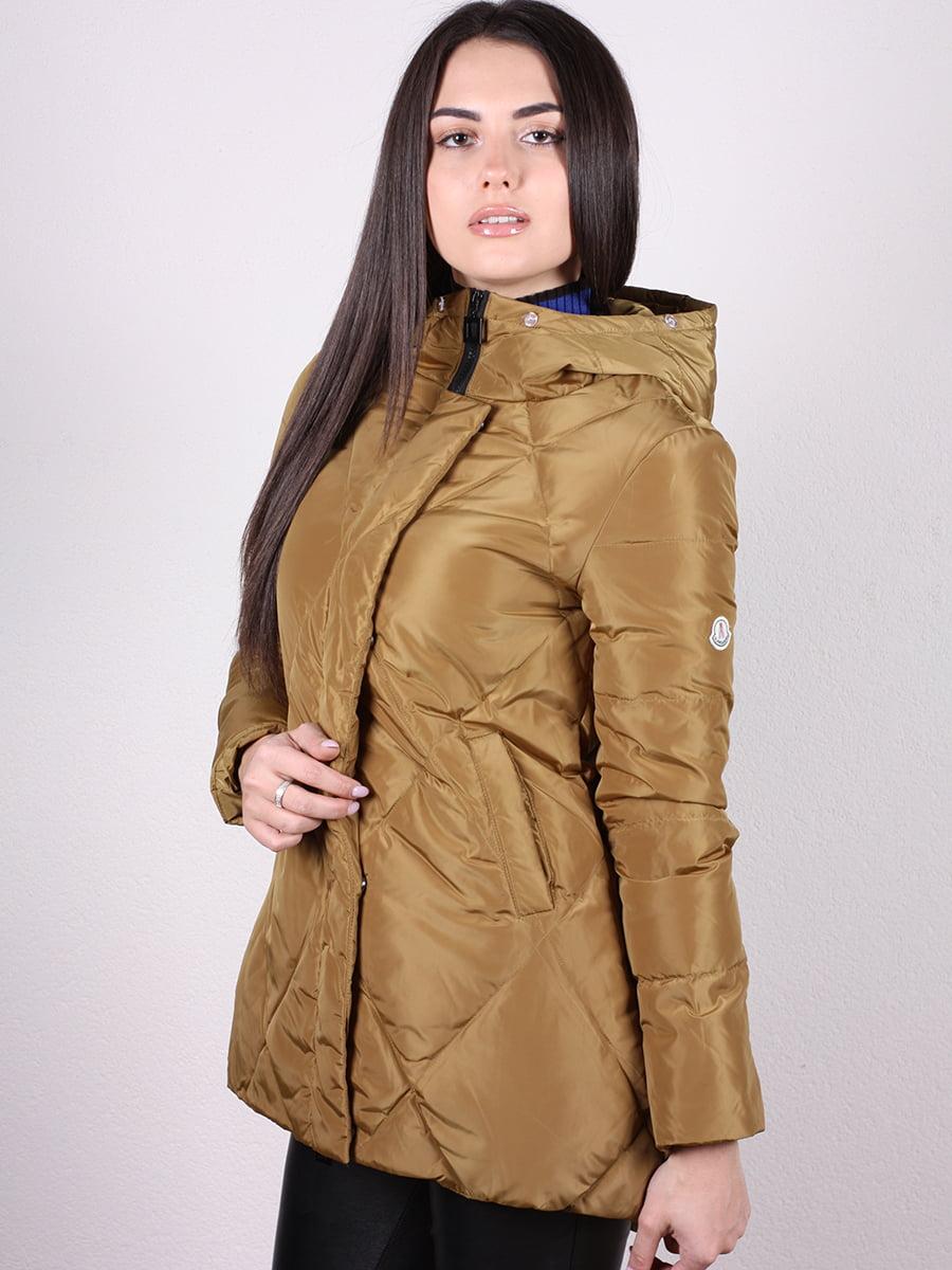 Куртка оливкового цвета | 4977733 | фото 2