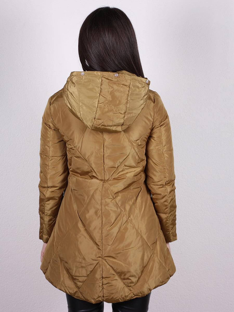 Куртка оливкового цвета | 4977733 | фото 3