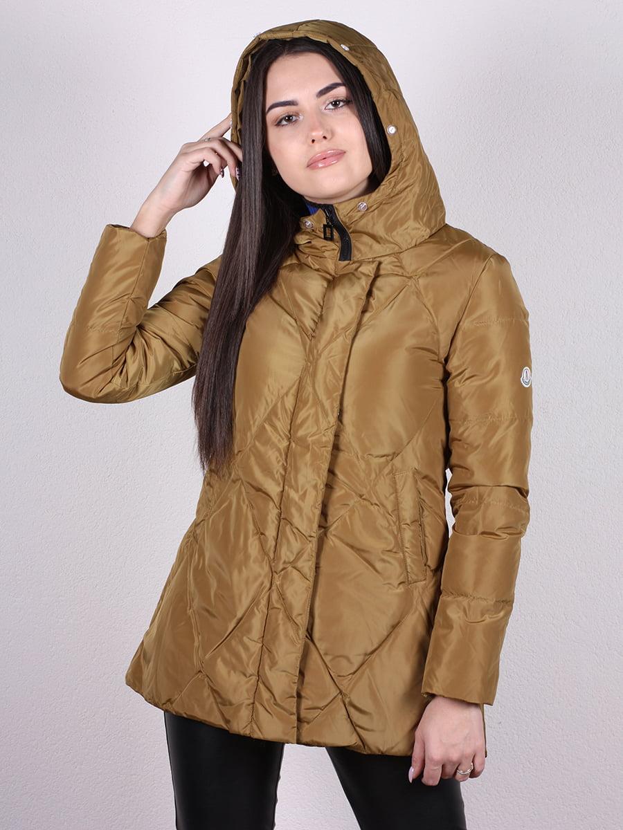 Куртка оливкового цвета | 4977733 | фото 4