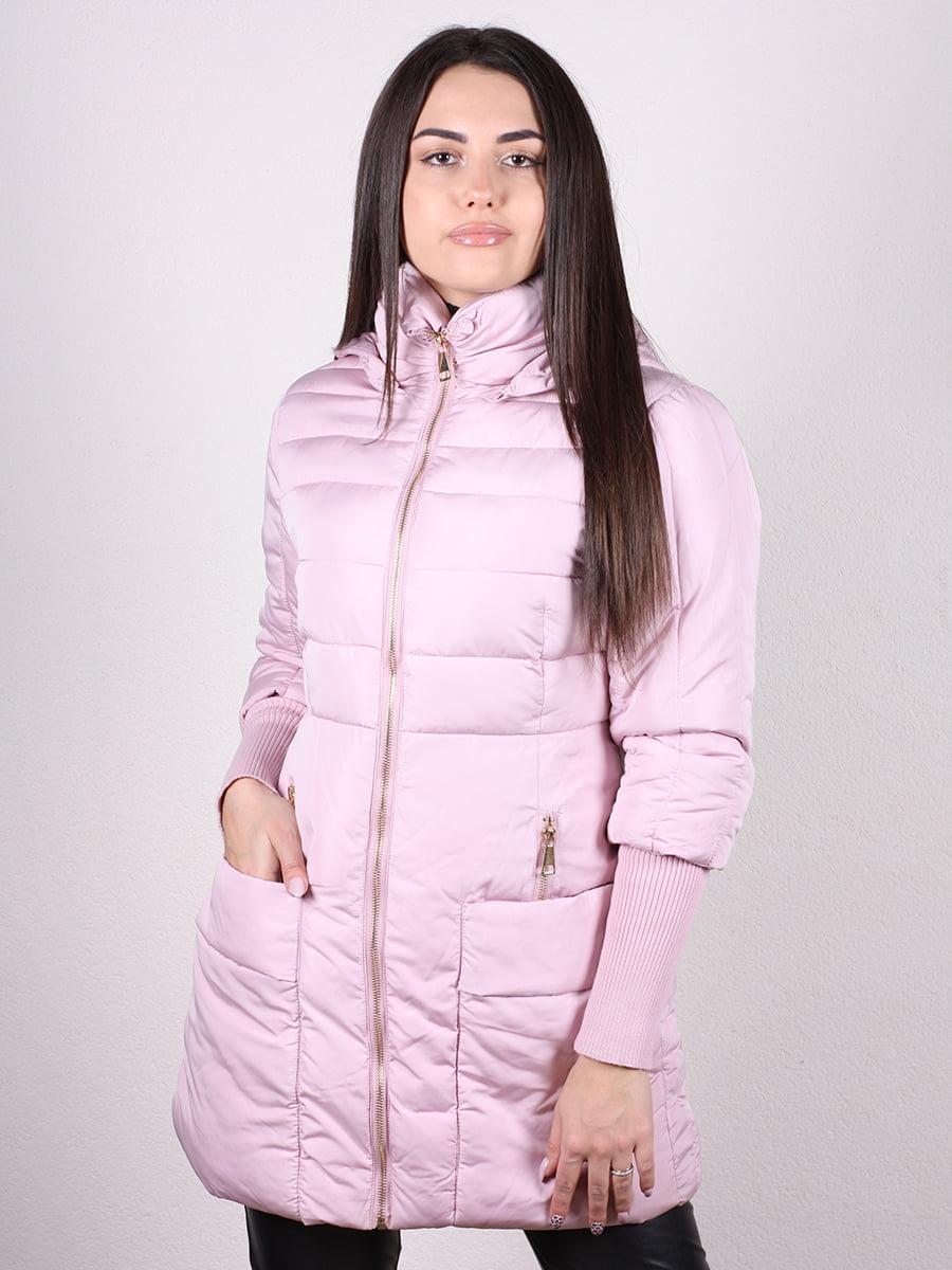 Пальто розовое   4977741