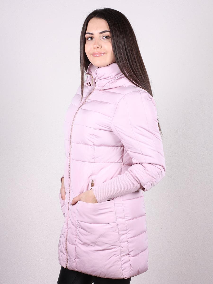 Пальто розовое   4977741   фото 2