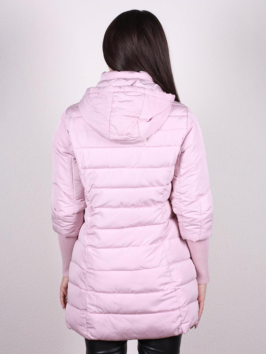 Пальто розовое   4977741   фото 3