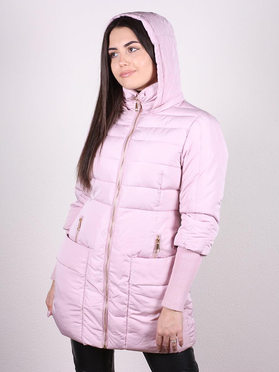 Пальто розовое   4977741   фото 4