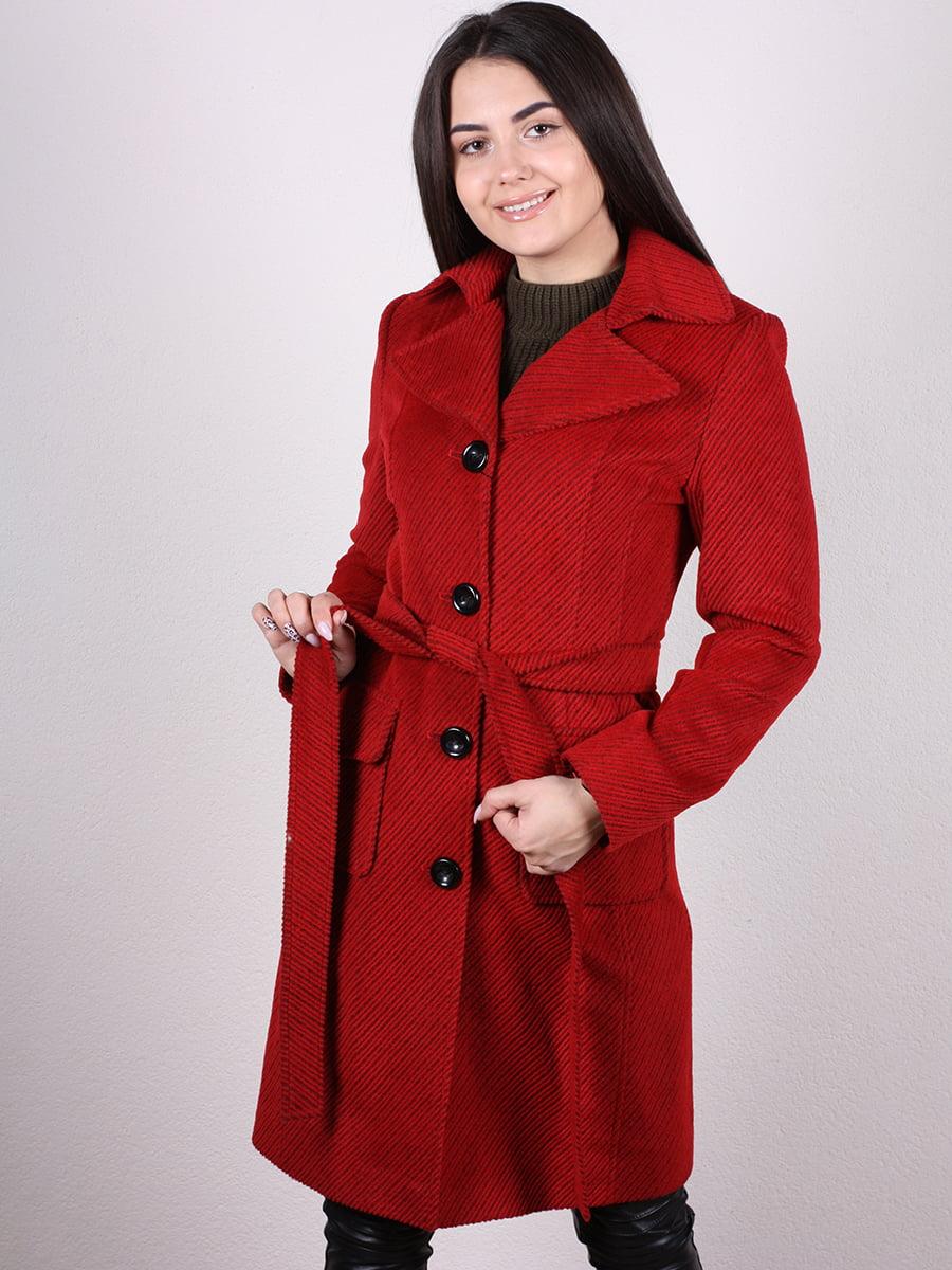 Пальто красное | 4977752