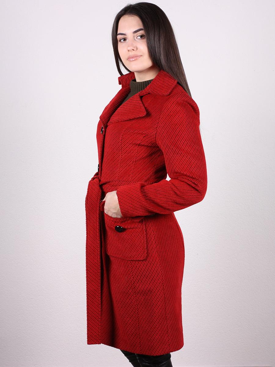 Пальто красное | 4977752 | фото 2