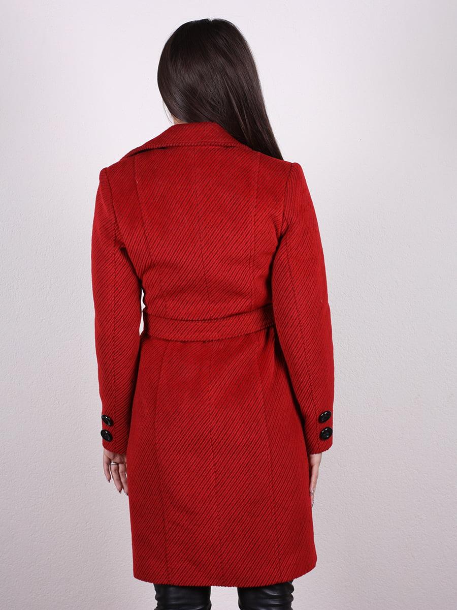 Пальто красное | 4977752 | фото 3