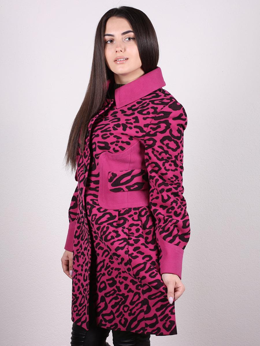 Пальто анималистической расцветки | 4977761 | фото 2