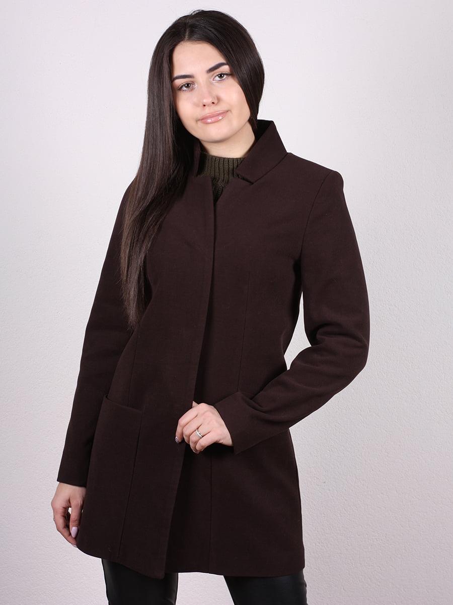 Пальто коричневое | 4977770
