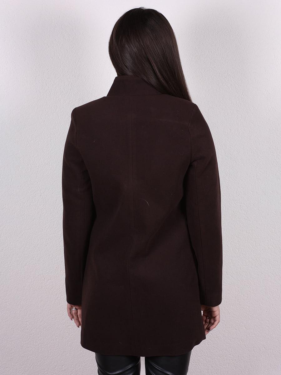 Пальто коричневое | 4977770 | фото 3