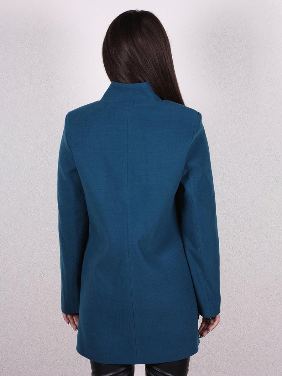 Пальто синее | 4977771 | фото 3