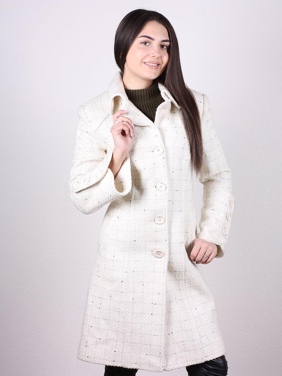 Пальто светло-бежевое | 4977778 | фото 2