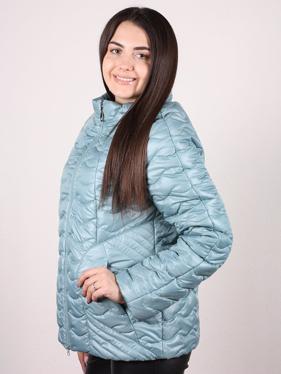 Куртка мятного цвета | 4977782 | фото 2
