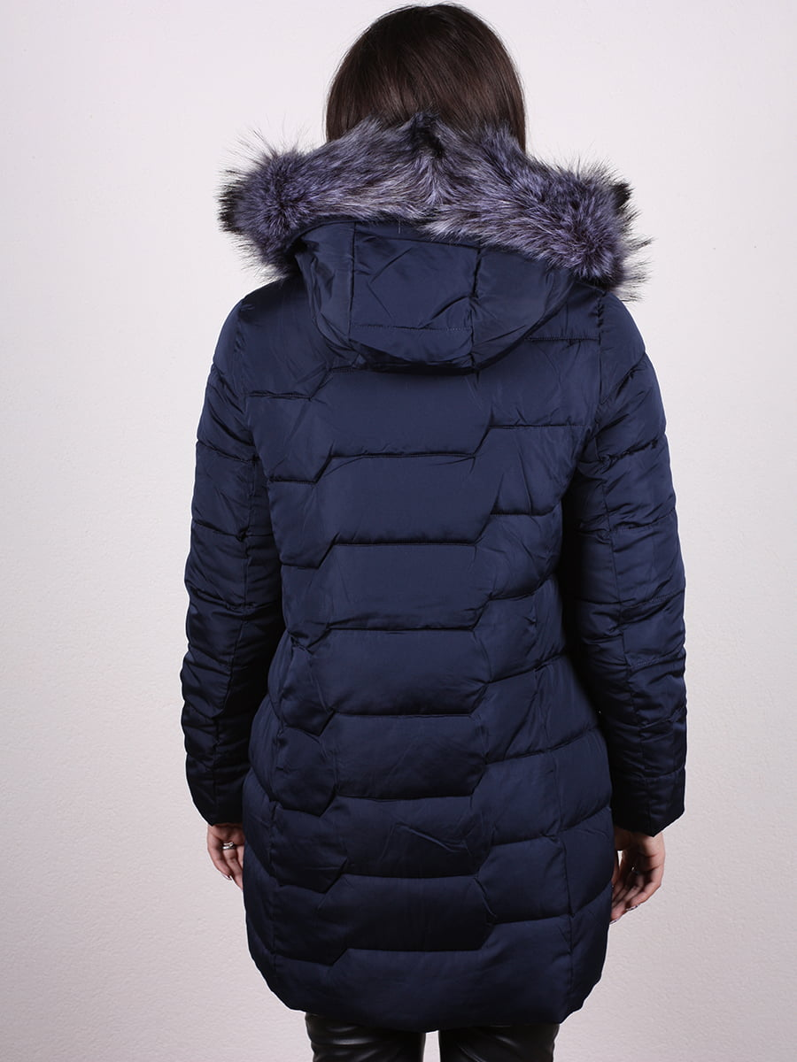 Пальто синее | 4977788 | фото 4