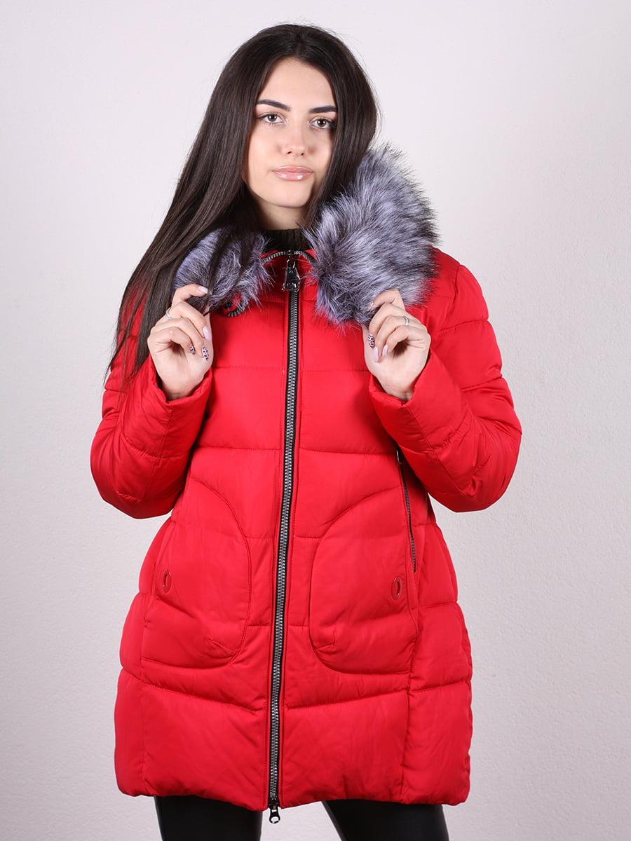 Пальто красное   4977790   фото 2