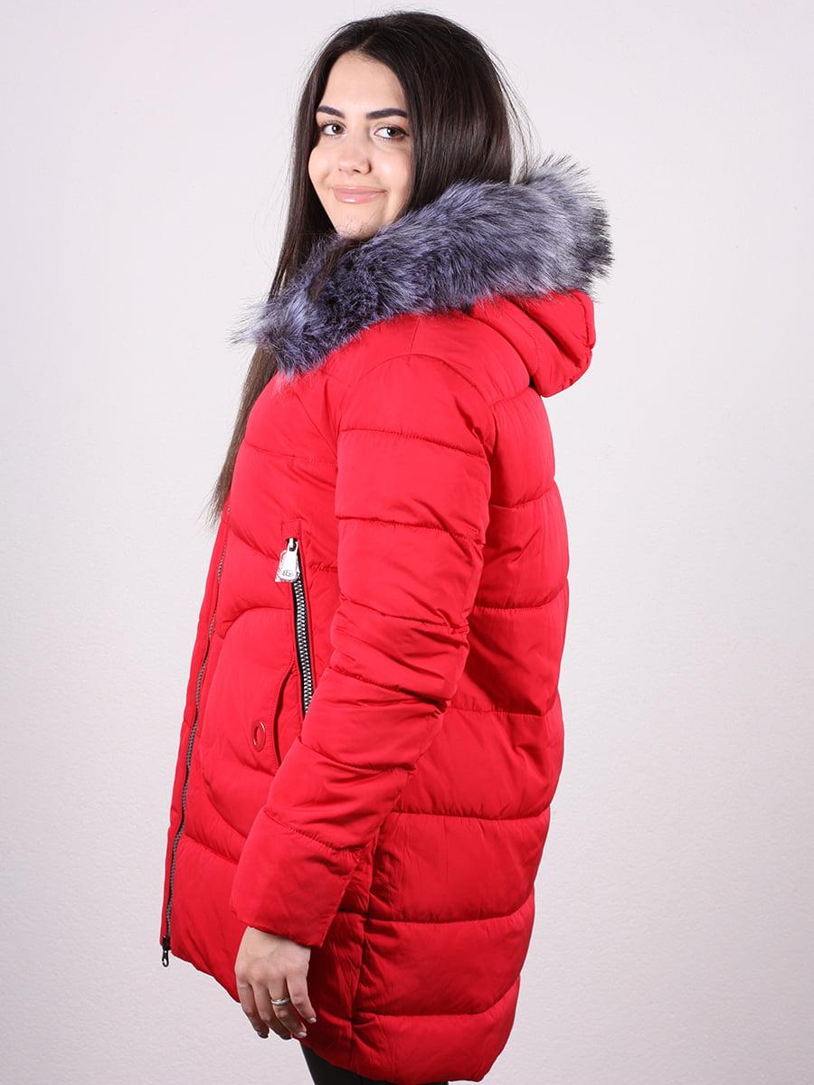 Пальто красное   4977790   фото 3