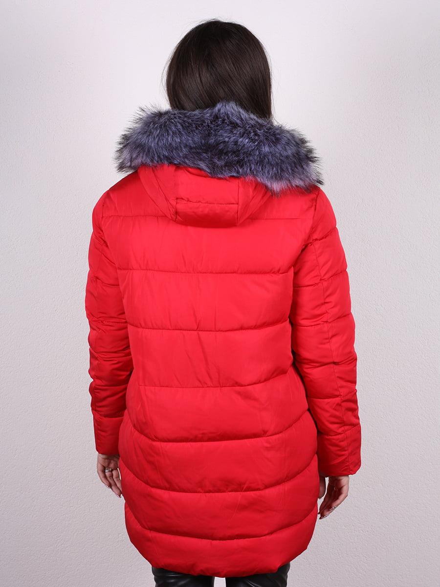 Пальто красное   4977790   фото 4