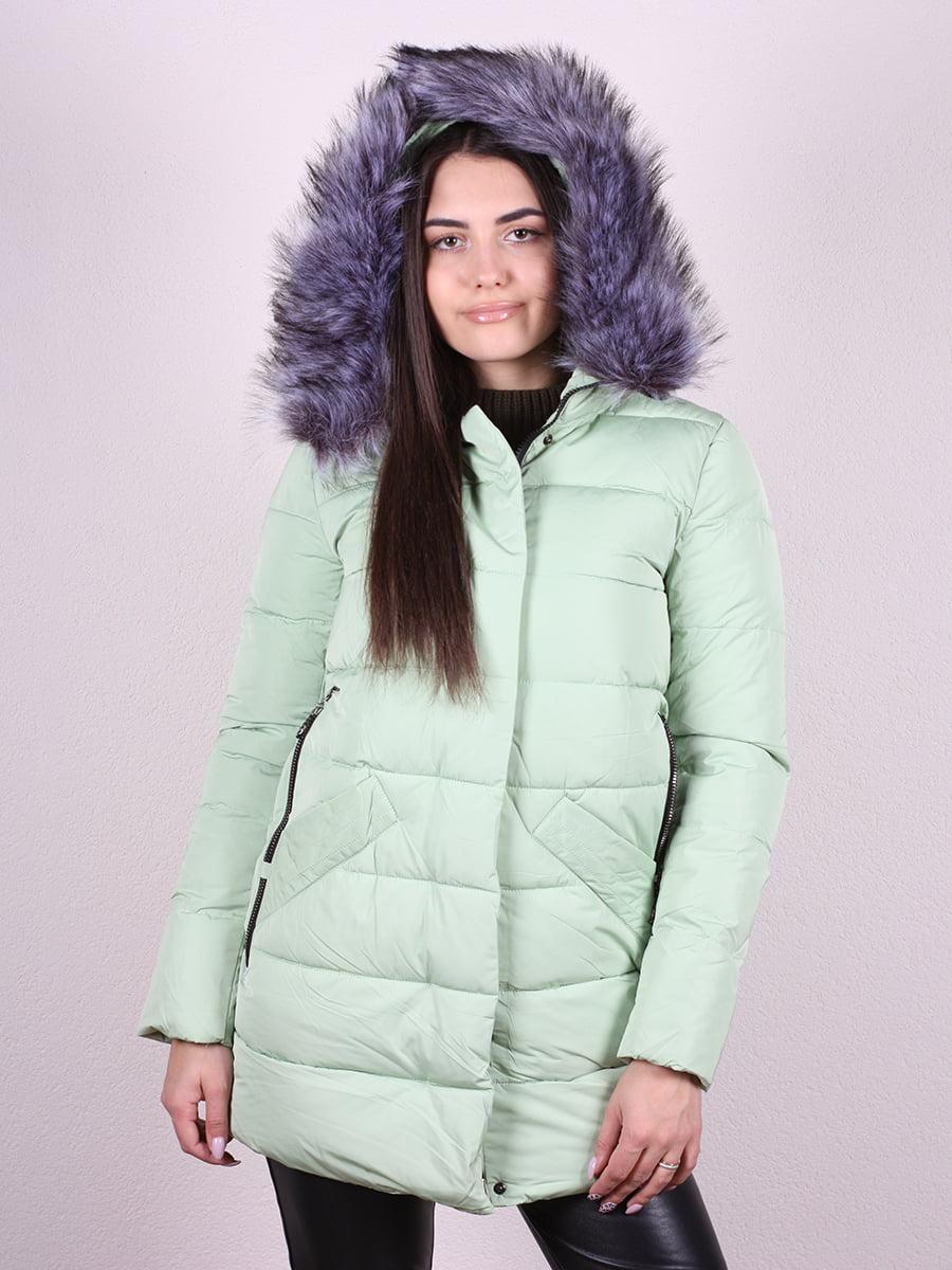 Пальто мятного цвета | 4977791