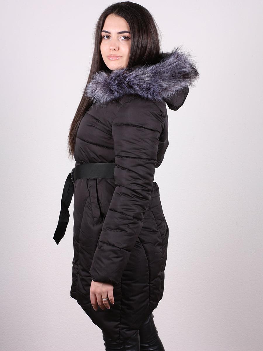 Пальто черное | 4977798 | фото 3