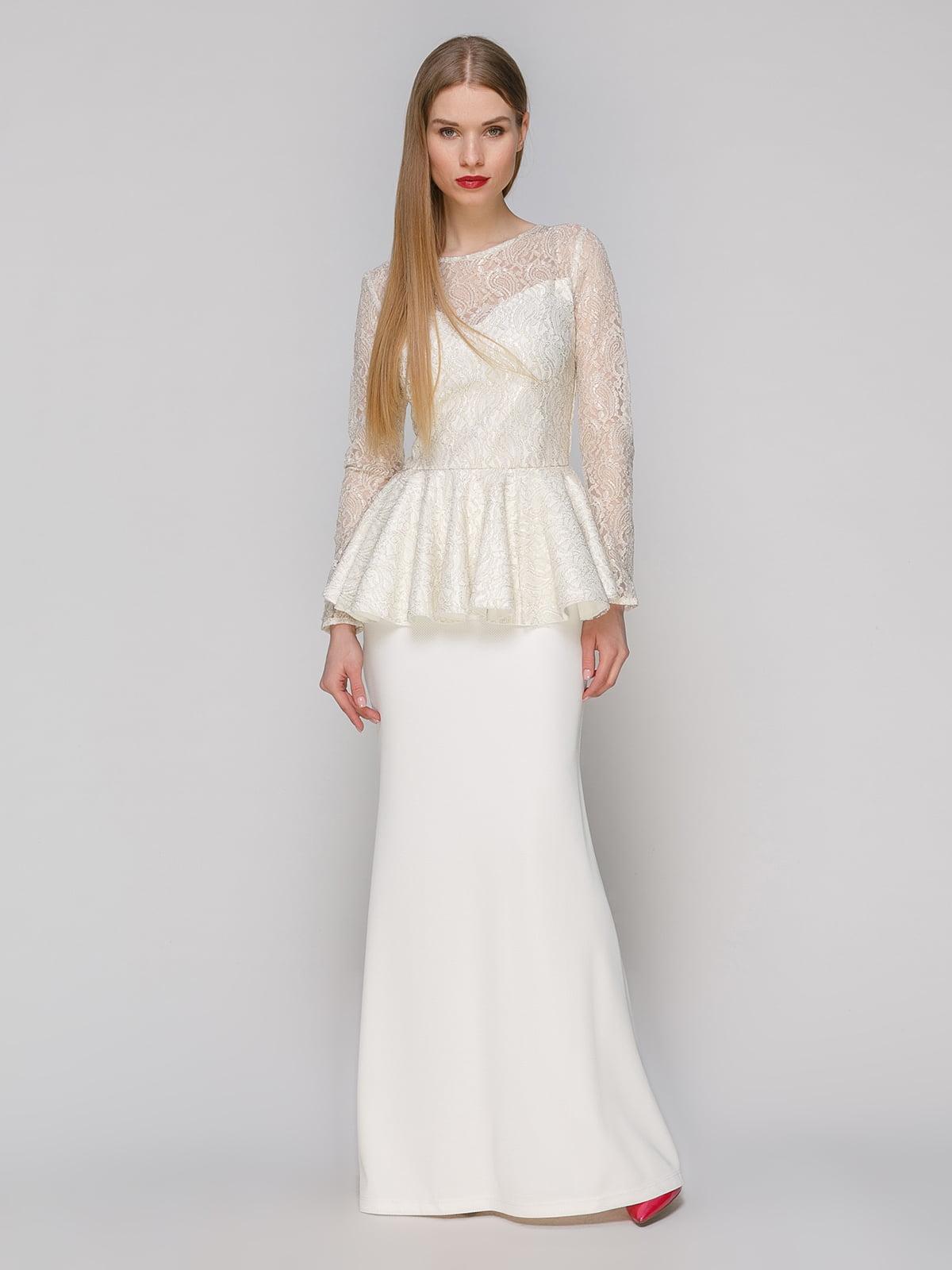Сукня молочного кольору   4911079