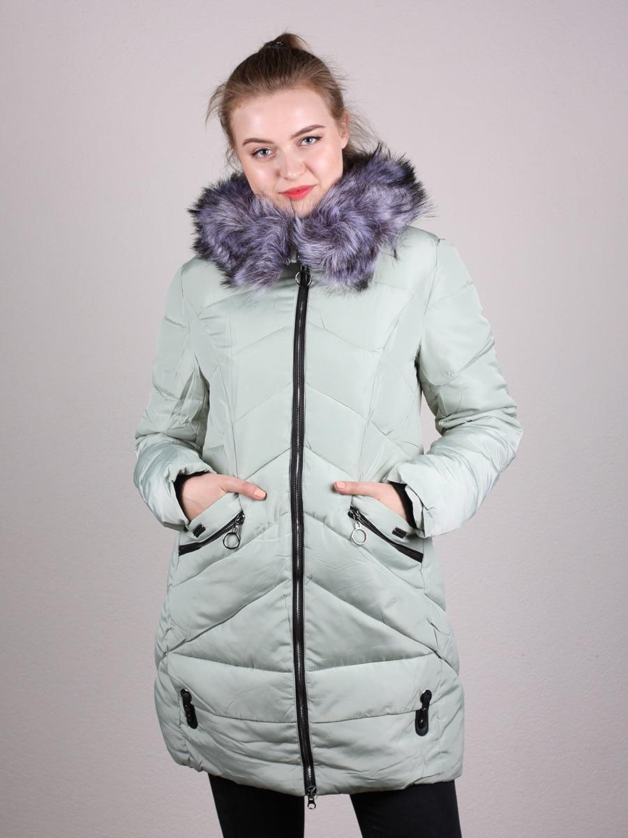 Пальто фисташкового цвета | 4690641 | фото 10