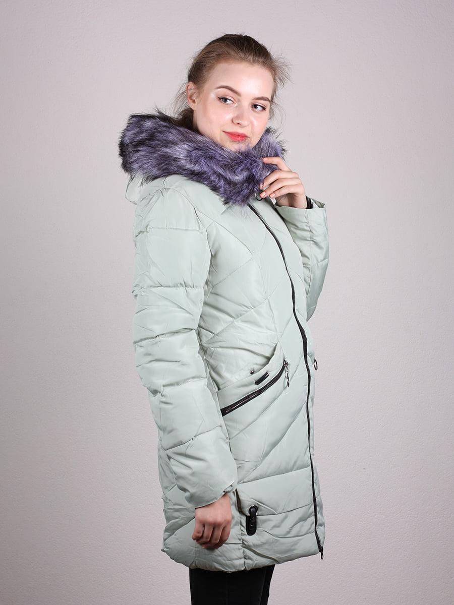 Пальто фисташкового цвета | 4690641 | фото 11