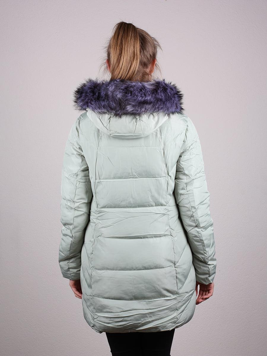 Пальто фисташкового цвета | 4690641 | фото 12