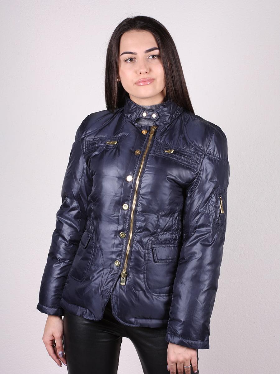 Куртка темно-синяя | 4770581 | фото 11
