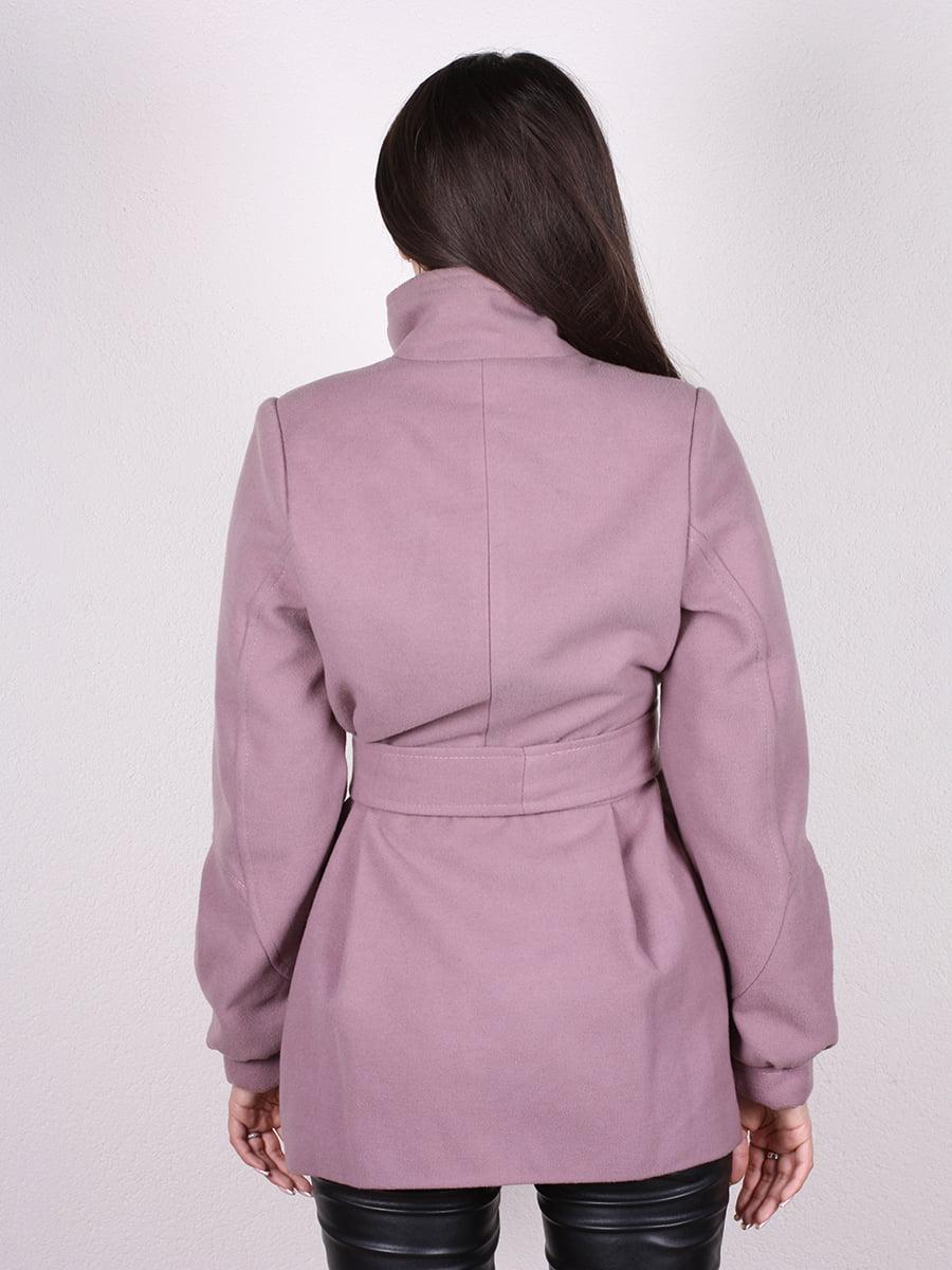 Пальто цвета пудры | 4903724 | фото 9