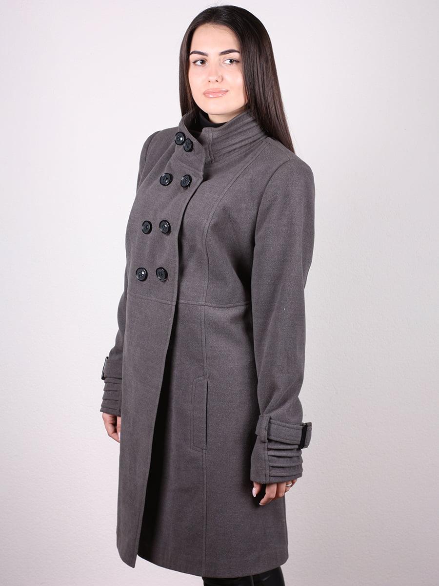 Пальто серое | 4903728 | фото 8