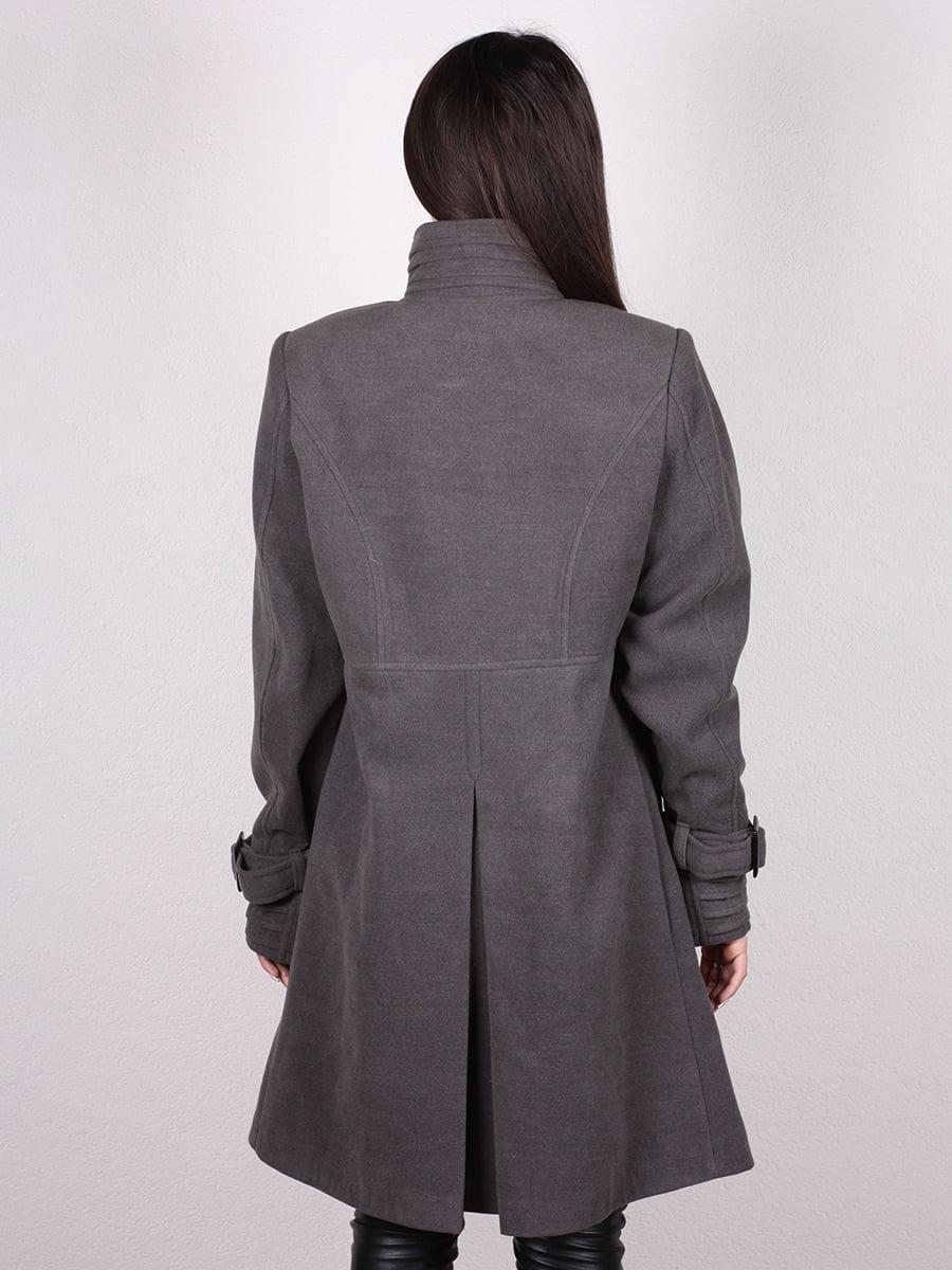 Пальто серое | 4903728 | фото 9