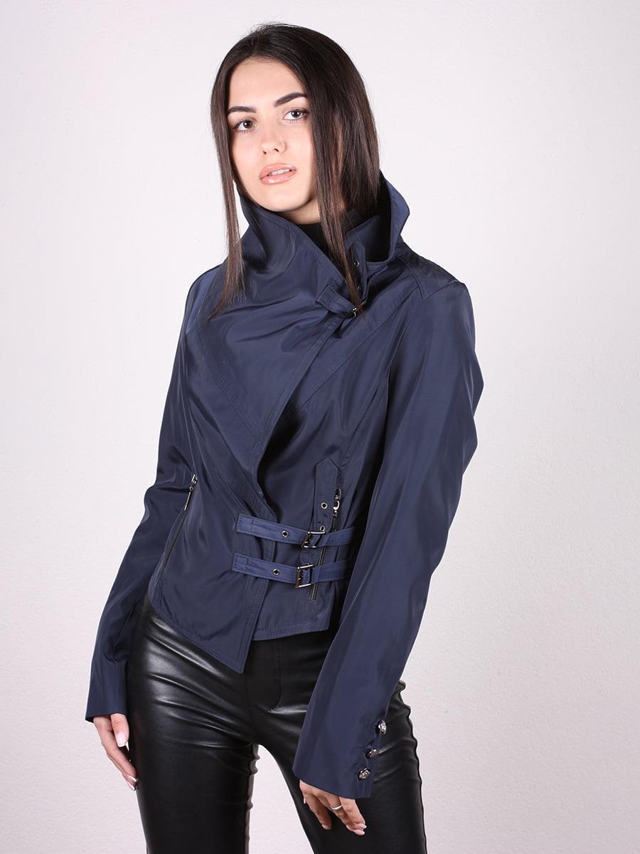 Куртка темно-синяя   4903748   фото 4