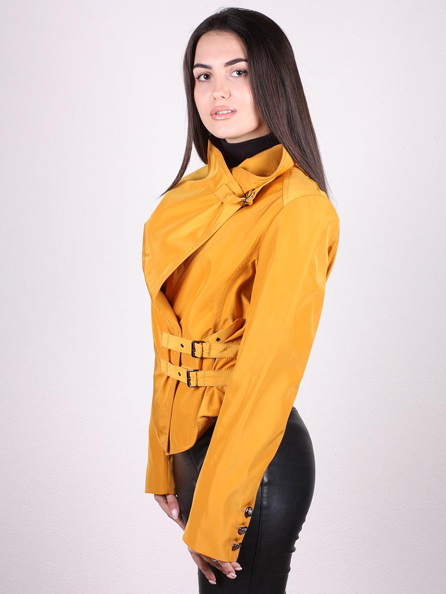 Куртка желтая | 4903750 | фото 5