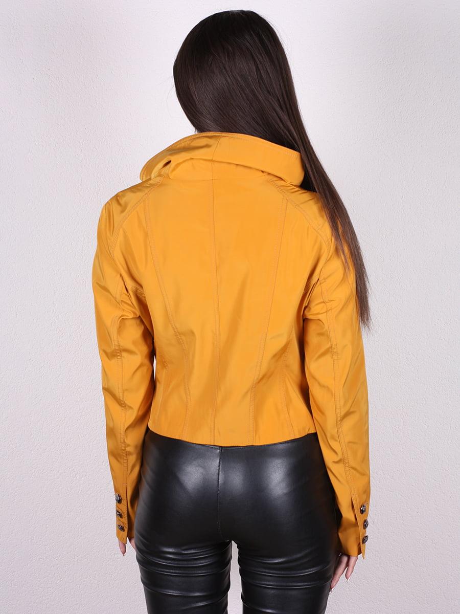 Куртка желтая | 4903750 | фото 6