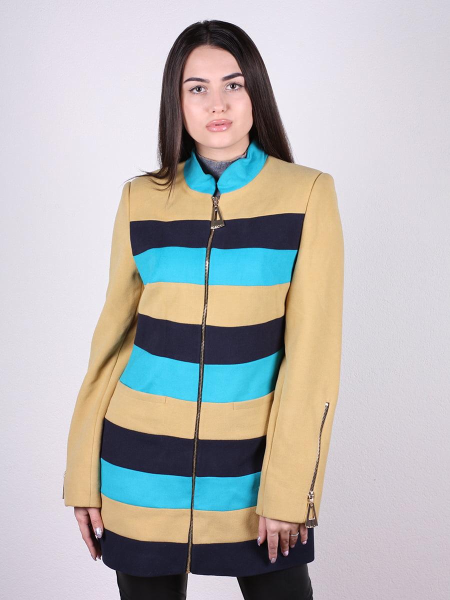 Пальто в полоску | 4922376 | фото 4