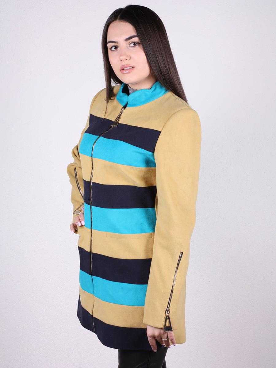 Пальто в полоску | 4922376 | фото 5